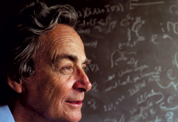 Richard P Feynman  - genius